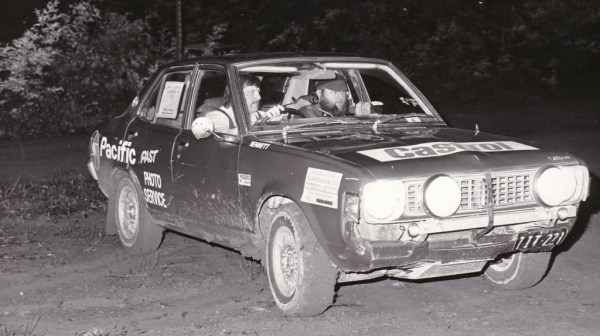 Bill and Stuart Lister in the 81 Honda Scamper