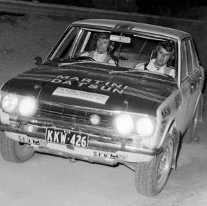 Bernadou and Rainer competing in the late 70s