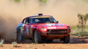 The Coconut Cars 260Z in the 2014 Sydney to London