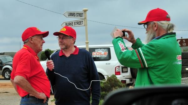 Alan Baker interviewing Bob Watson at COT 2014.