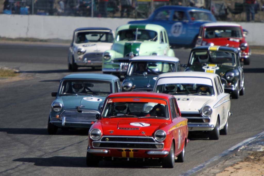Ted leads the field at Winton