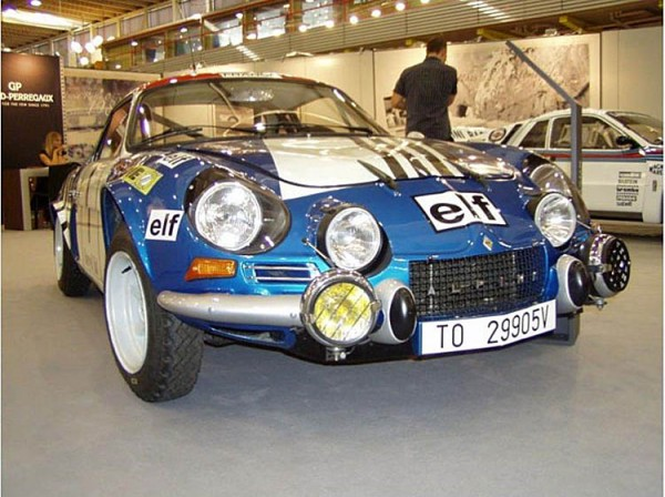 The Alpine Renault ...