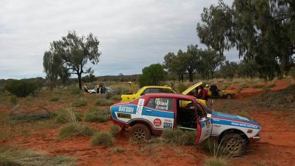 Bogged Rally Cars - credit Glenn Evans