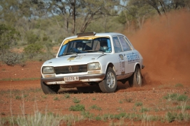 Andy Crane and Dave Anderson, Peugeot 504