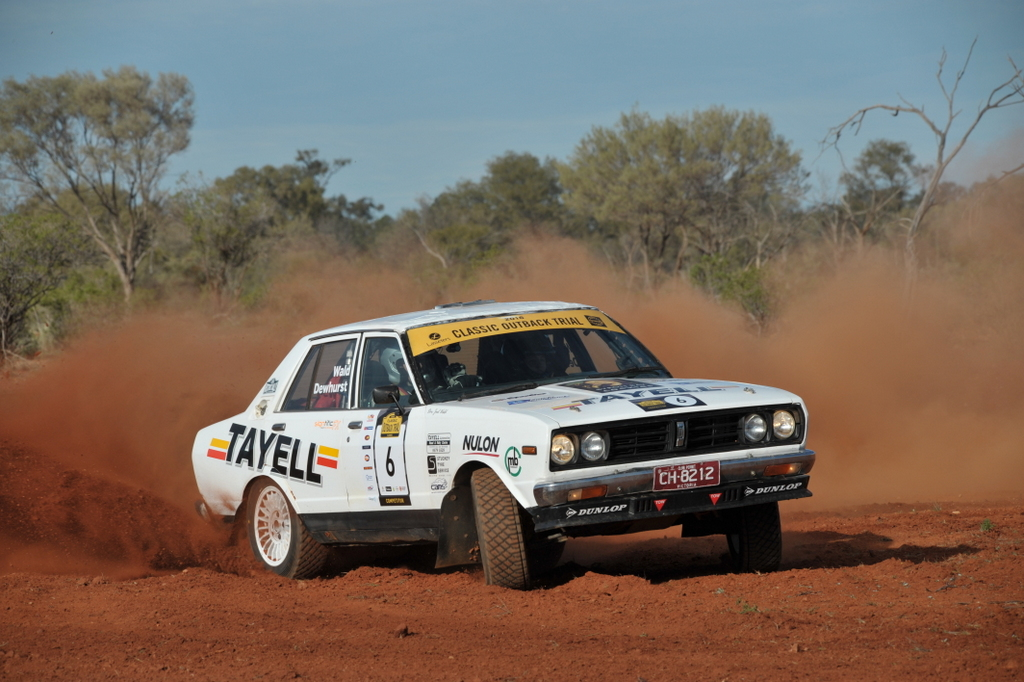 Joel Wald And Tracey Dewhurst Datsun Stanza Lasseters Classic