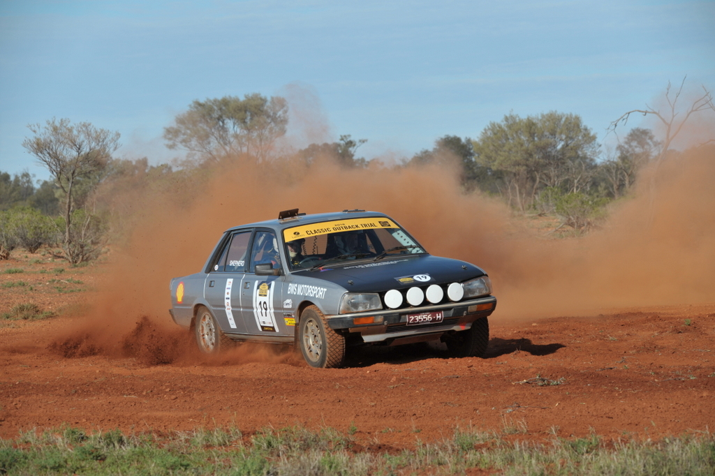Tim And Bruce Shepherd Peugeot 504 Gti Lasseters Classic Outback