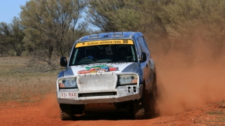 Murray Young and Paul McBean, Pajero