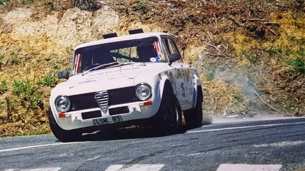 1970 Alfa Romeo Giulia Super Rally Car