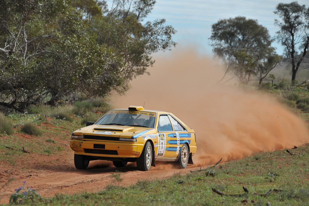 COT16 1st Classic: : Andrew Travis and David Travis, 1984 Nissan Gazelle
