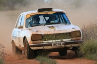 COT16 2nd Classic: : Andy Crane and Dave Anderson, 1970 Peugeot 504
