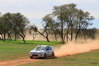 COT16 1st Modern: Peter Neal and Craig Whyburn, 1998 Subaru Impreza WRX