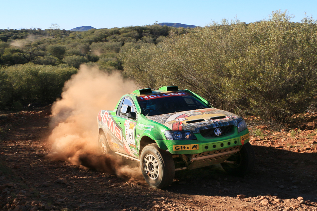 COT16 1st Cross Country: Stephen Riley and John Doble, 2014 Holden VB Ute