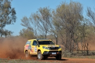COT16 2nd Cross Country: Reg Owen and Russell Cairns, 2014 Isuzu MU-X