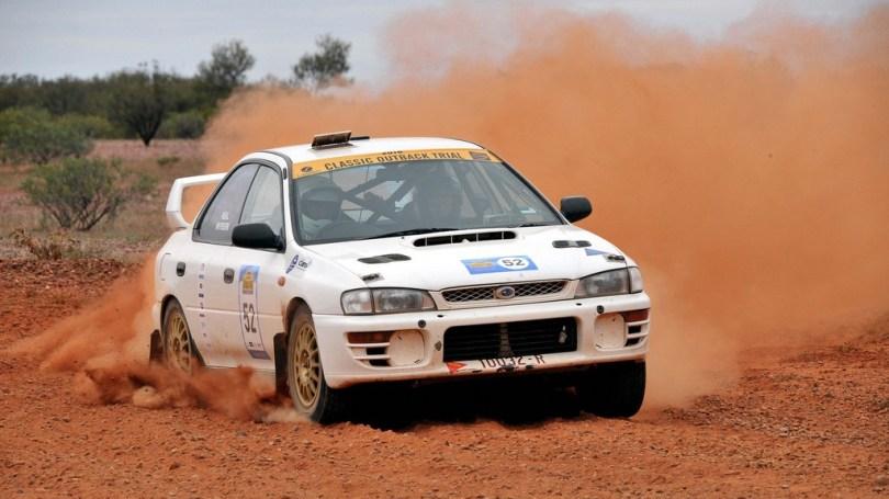 2016 Classic Outback Modern winners, Peter Neal & Craig Wayburn, Subaru WRX