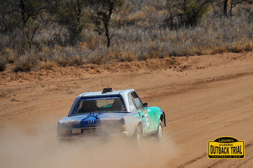 Pat Cole/Brad Cole - Mercedes Benz 280SL