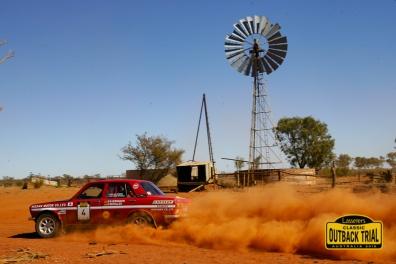 Ian Reddiex/Mike Mitchell - Datsun 1600 SSS