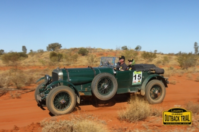 Mark and Robert Wilkinson - 1926 Bentley Tourer