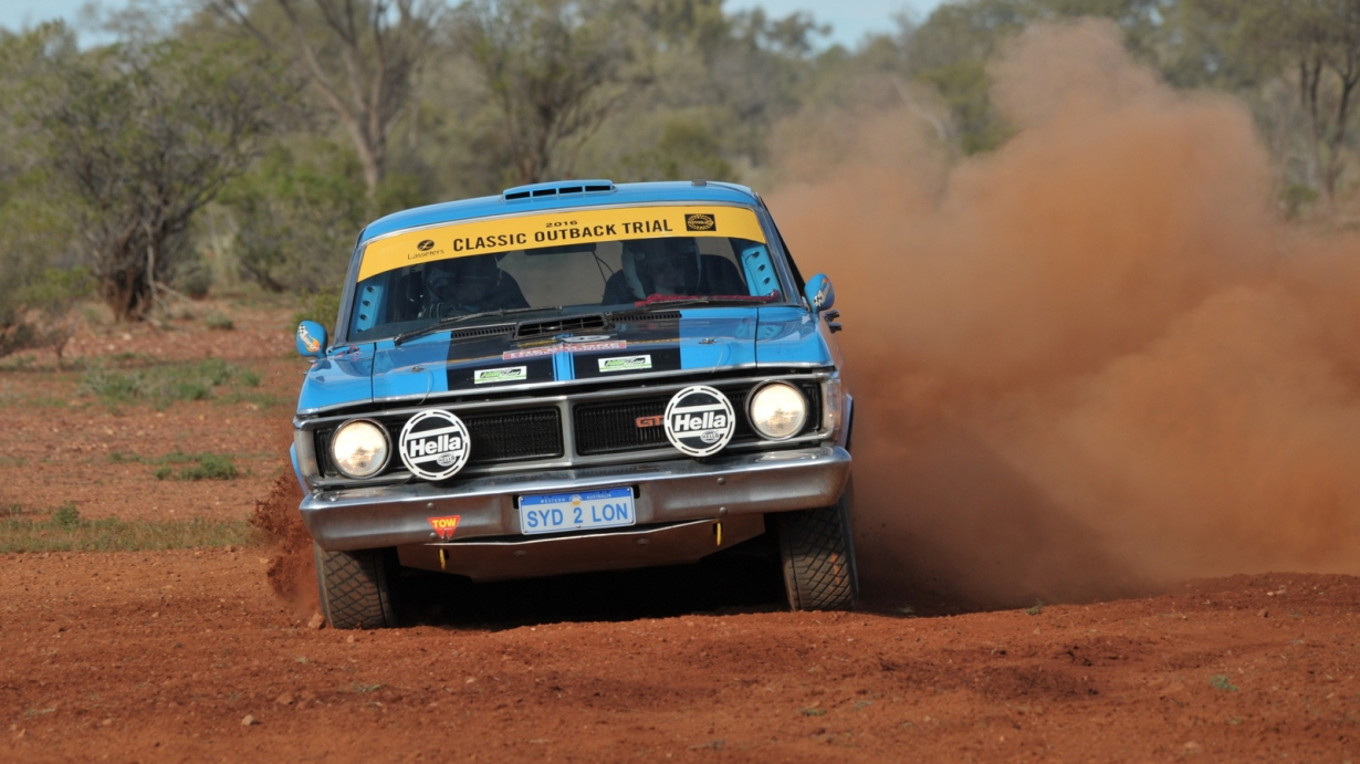 Shane Atwell and David Moir, Ford Falcon GT, in COT16