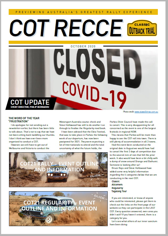 cot newsletter thumbnail
